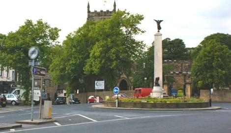 Skipton roundabout