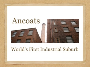 Ancoats talk