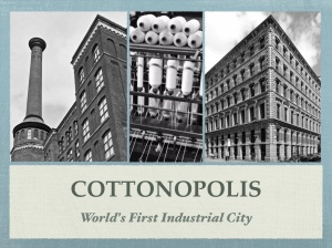 Cottonopolis talk